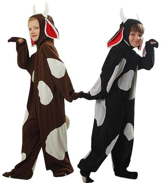 Kostium dziecięcy KROWA brązowa 4-5 lat / Animal party / Stroje dla chłopców - sklep Partybiz