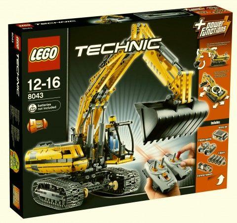 Lego 8043 motorized excavator