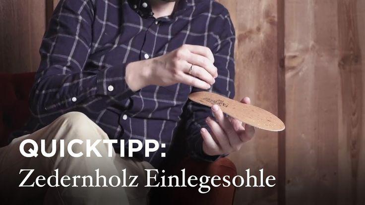 SHOEPASSION.com - #Quicktipp: Nie wieder #Schweißfüße! Durchschnittlich geben unsere Füße ca. ein Schnapsglas Flüssigkeit in unsere #Schuhe ab. Klingt unangenehm, muss es aber nicht sein. Aus diesem Grund stellen wir Euch #Zederna vor - die #Zedernholz #Schuheinlegesohle gegen #Schweiß. #shoepassiontv
