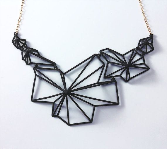 Andromeda Necklace black by summerized on Etsy,