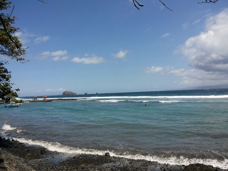 Candidasa Beach, Karangasem, Bali