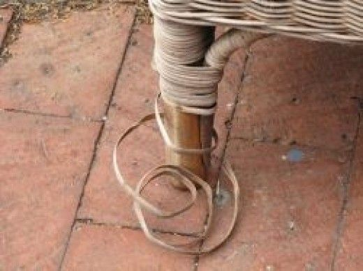 Repair Loose Ends on Wicker Furniture