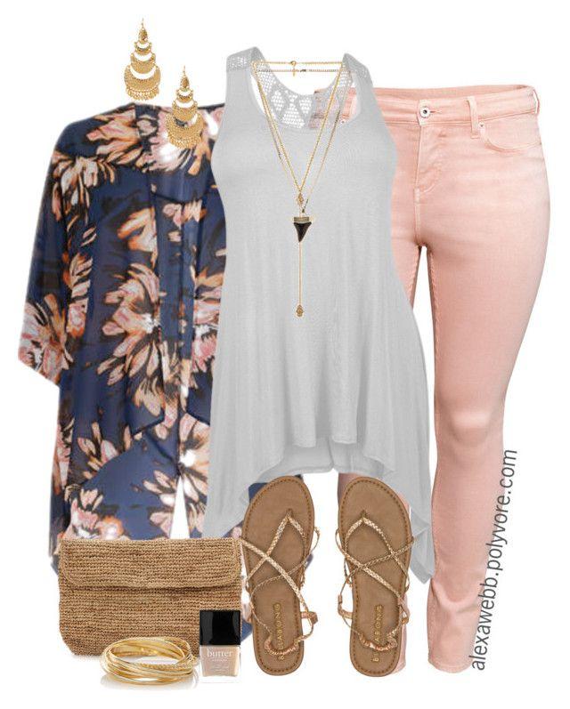 Kimono Outfit Ideas- 20 Ways To Dress Up With Kimono Outfits Curvy Outfits, Mode Outfits, Plus Size Outfits, Fashion Outfits, Womens Fashion, Outfits With Kimonos, Jeans Fashion, Curvy Girl Fashion, Cute Fashion