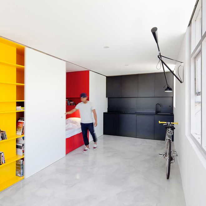 The Studio apartment in Woolloomooloo by Nicholas Gurney