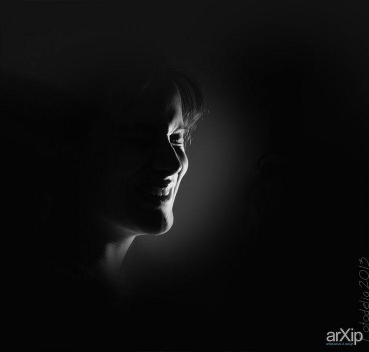 Портрет: фотография, чёрно-белая фотография, жанровая фотография #photo #blackandwhitephoto #street& arXip.com
