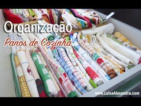 Organização • Panos de Cozinha – Luísa Alexandra