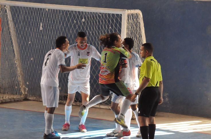 Así se celebra un gol en Santa Marta. Festejo de Gremio Samario