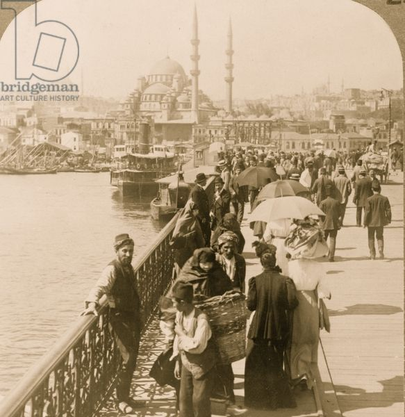 Galata to Istanbul, Constantinople -1913
