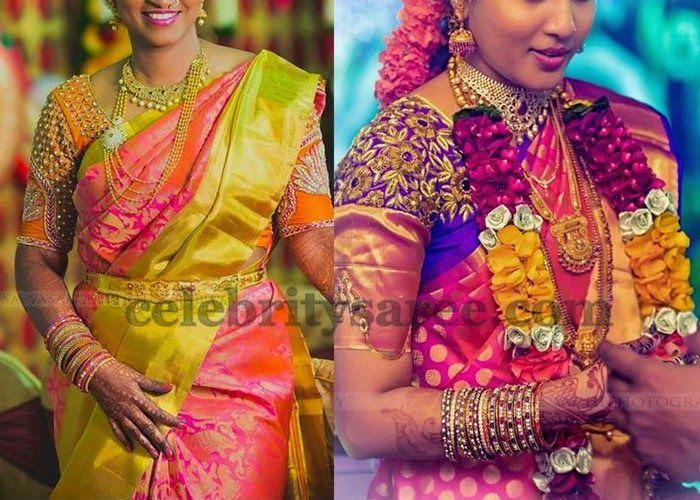 907445751a1d2 Real Brides Zardosi Work Blouse
