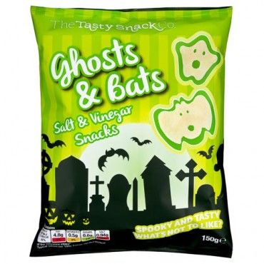 Ghosts & Bats Salt & Vinegar Snacks 150g