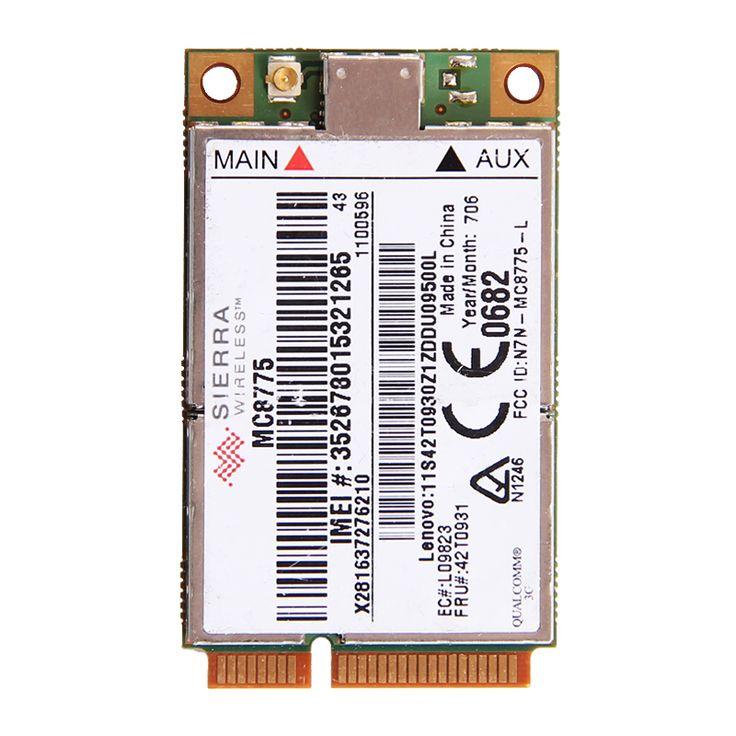 UNLOCKED Sierra MC8775 Wireless 3G WWAN HSPA GSM GPRS EDGE MINI PCI-E Module FRU:42T0931 for IBM Lenovo T61 T61P X61 R61 X300