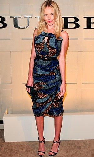 Kate Bosworth in Burberry:  perfection again