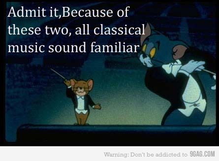 Thank you Tom & Jerry-my kids recognize the music to the Nutcracker bc of Tom and Jerry!!