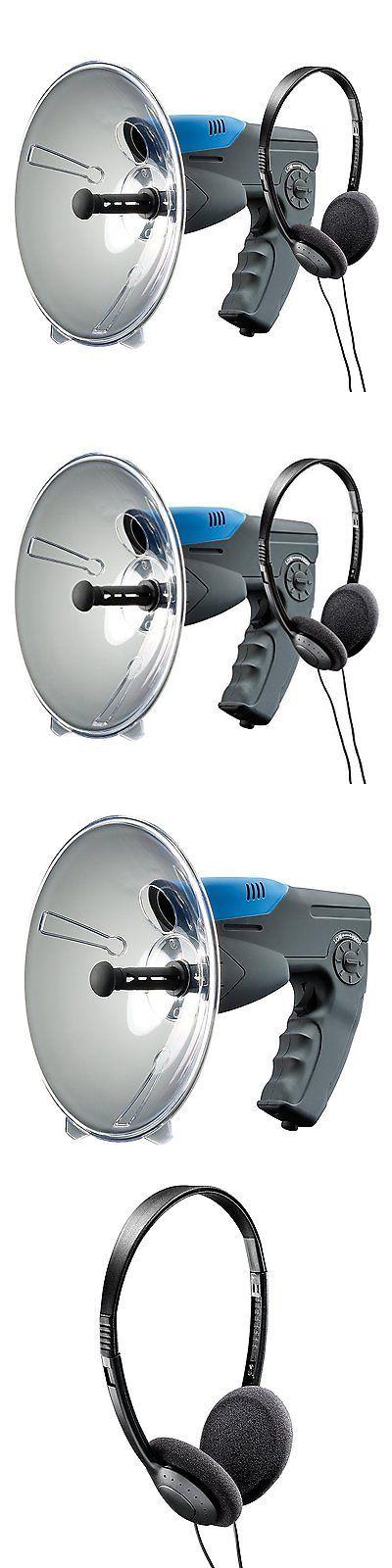 Surveillance Gadgets: Parabolic Microphone Spy Listening Device Bionic Ear Sound Amplifier 300M -> BUY IT NOW ONLY: $35.42 on eBay!