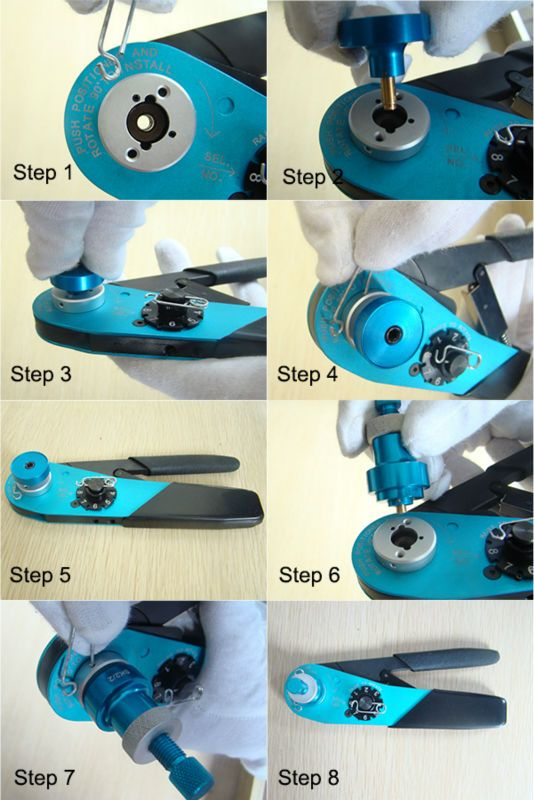 7fd759c73ad0b2657b2f9ec791e38ba8 crimping hand tools 16 best how to use m22520 crimping tool images on pinterest wire harness crimper at sewacar.co