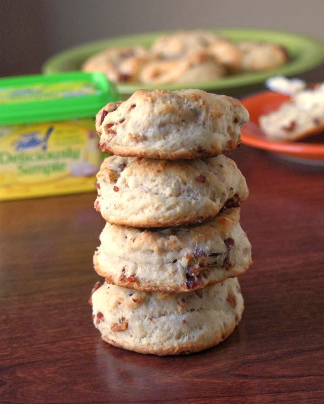 Southern Bacon Biscuits   Bacon recipes, The two and Bacon