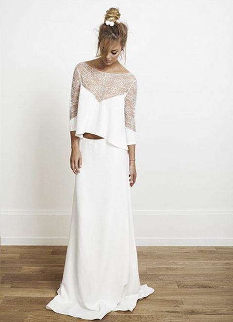 44 besten Crop Top Bridal Outfits Bilder auf Pinterest ...