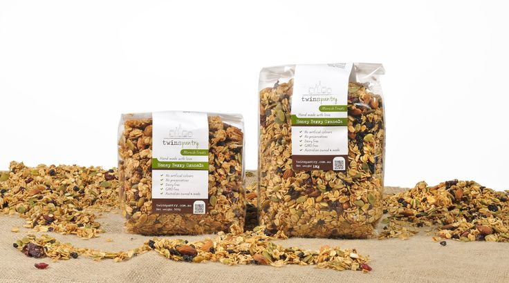 Honey Berry Granola......3KG of Honey Berry Granola. This one is the bees knees! Our mix of oats, dried fruit, coconut and almonds is sweetened with honey and flavoured with exotic spices. Serve with yoghurt and fresh fruits for a blissful start to the day.