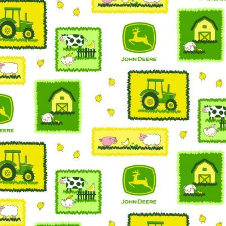 A personal favorite from my Etsy shop https://www.etsy.com/listing/495389686/john-deere-farm-scene-patches-cotton