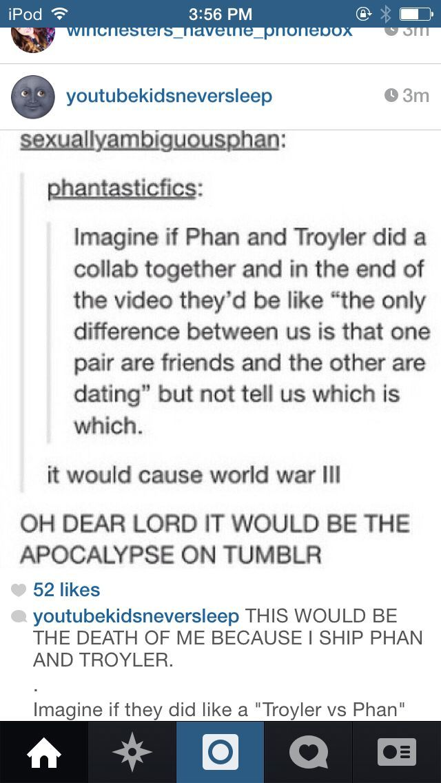 I WOULD MURDER THE SHIT OUT OF THE TROYLER FANGIRLS