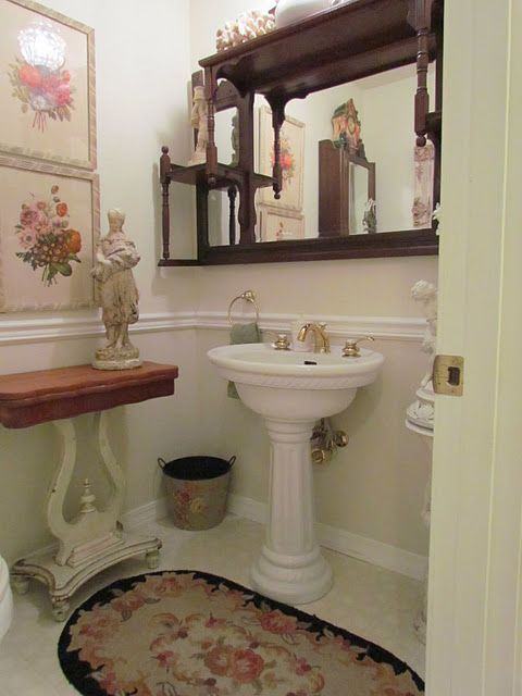 17 Best Images About Powder Room On Pinterest Bathroom Interior Bathrooms
