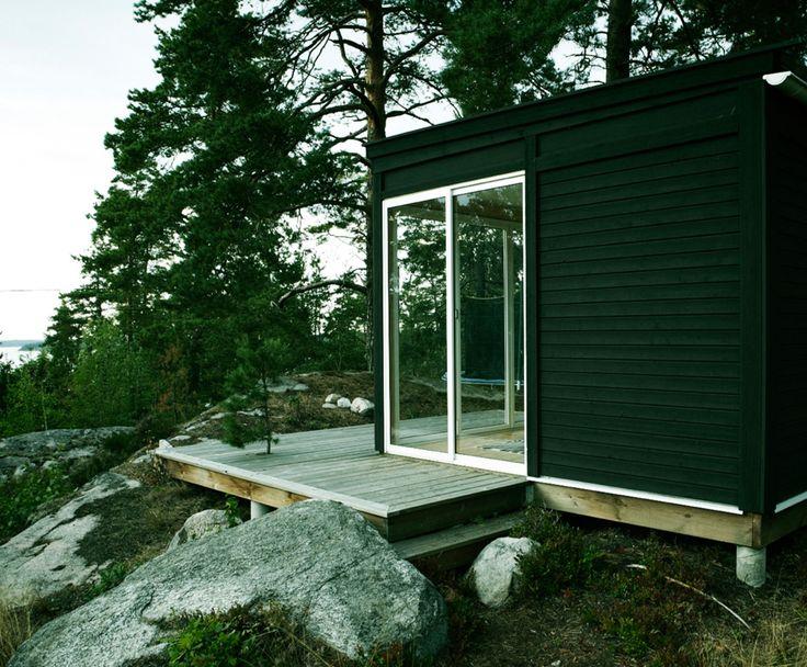 Kenjo-Öppna rum. Tiny cottage located in the archipelago of Stockholm.