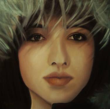 "Saatchi Art Artist ΑγγελικΗ Ageliki; Painting, ""Titi"" #art"