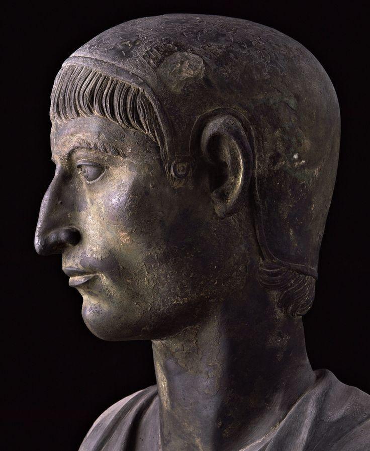 Flamen, I a.C. Museo Archeologico Nazionale, Napoli. Villa dei Papiri, Ercolano. Cultura romana