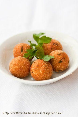 Polpettine di ricotta e tonno - Ricotta & Tuna balls