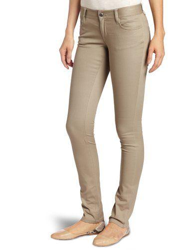 Khaki skinny jeans juniors