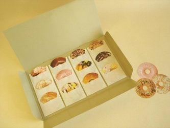 ドーナツ型メッセージカード