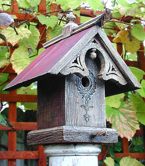106 Best Bird Houses Research Images On Pinterest