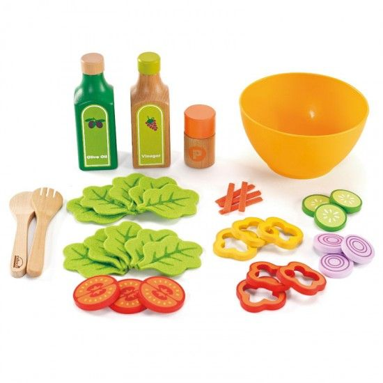 Gift for L? I love the idea of healthy pretend food vs. plastic burgers and fries (which L still thinks is yellow broccoli :)) Could I make the vegetables out of stiff felt...why yes, I think I'll give it a try.