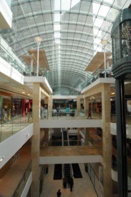 The Calgary Core Mall Skylight