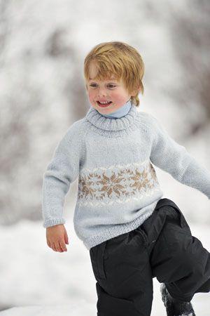 1011: Modell 6 Genser #strikk #knit #fjells