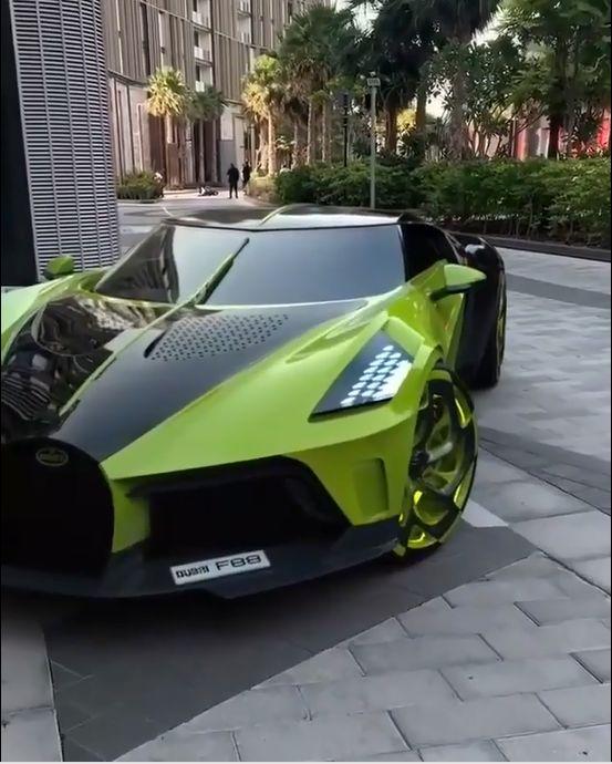 2019 Bugatti La Voiture Lumineuse Noire