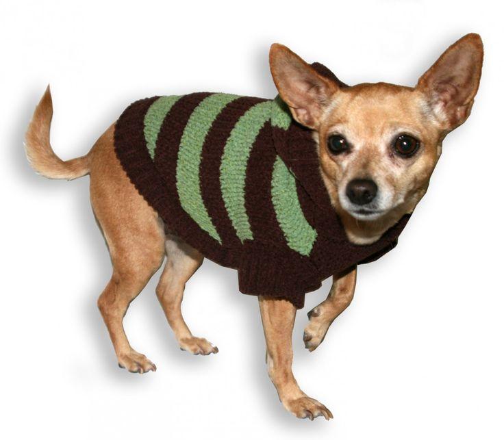 Best Friends World -  Hip Doggie Super Soft Brown Avocado Striped Sweater, €25.00 (http://www.bestfriendsworld.ie/hip-doggie-super-soft-brown-avocado-striped-sweater/)