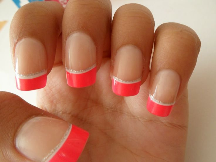 short fake nail designs - Google Search