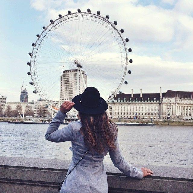 Aunque Londres super frío y un nublado la época nos descubrió un buen tipo donde disfrutar estupendamente de toda la ciudad