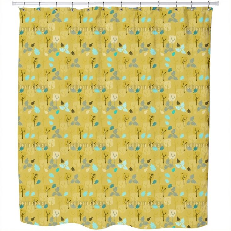Uneekee When The Last Leaves Fall Shower Curtain