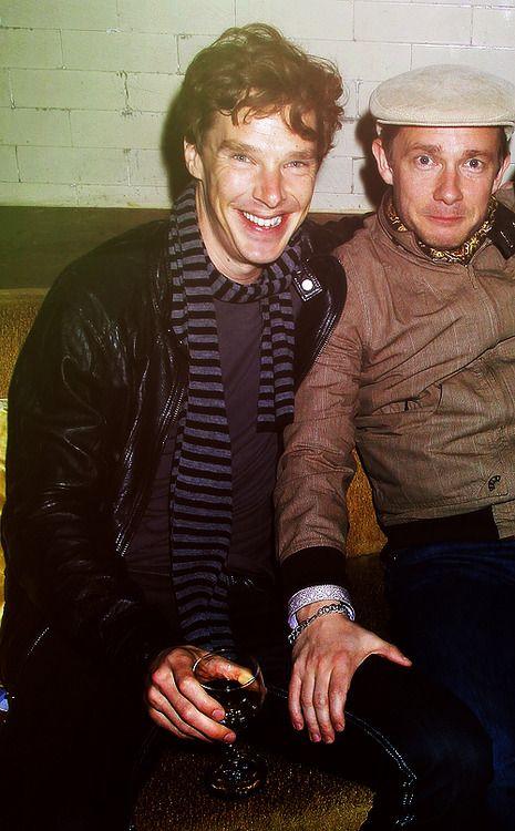 Benedict Cumberbatch and Martin Freeman (2)