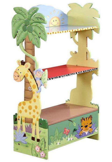 BEDROOM ORGANIZATION IDEAS - Kids Bedroom Bookshelf Bookcase