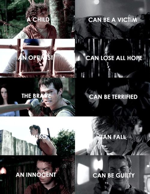 #TheMazeRunner #TheScorchTrials *spoilers* but gally is innocent he was not controlling himself and he helped thomas minho and the others in tdc so yeah , DID YOU READ THE BOOK ?