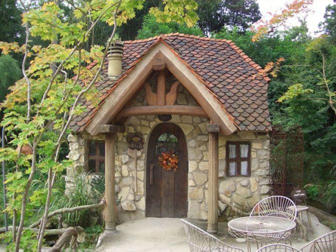 小さな水車小屋 お菓子の森 設計施工