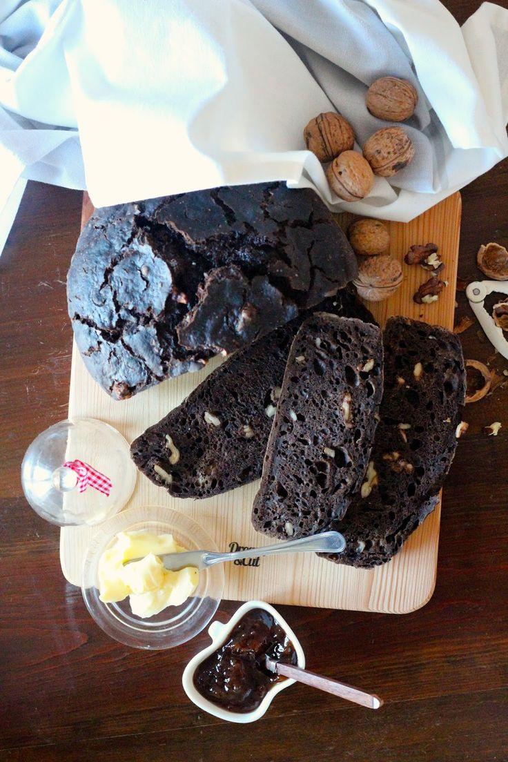 As Minhas Receitas: Pão de Alfarroba com Nozes