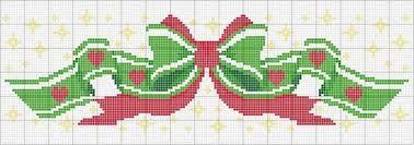 Resultado de imagem para graficos de ponto de cruz natalinos