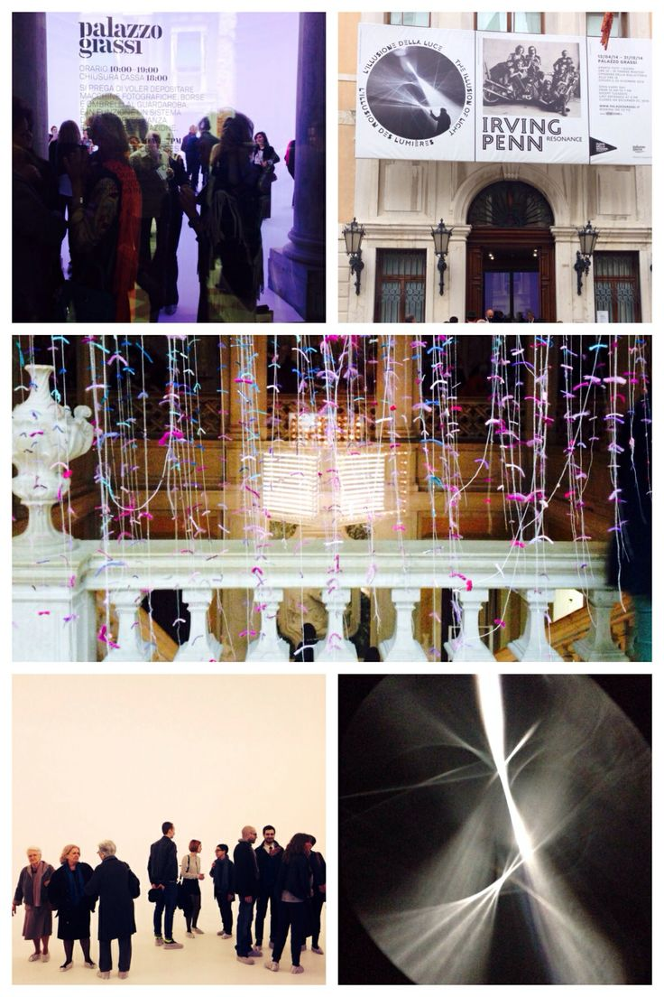 """Opening of """"The illusion of light"""" and Irving Penn, Resonance   Palazzo Grassi   Venice"""