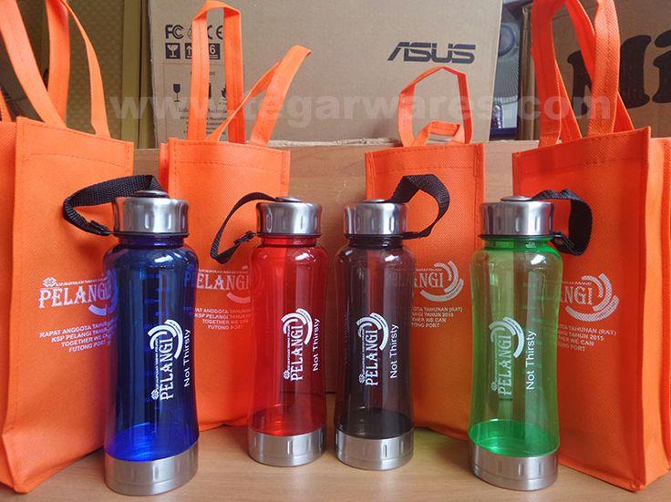 For annual members' meeting to be held in this mid-year Koperasi Karyawan Futong Port ordering drinking waterbottles type Travo 600ml plus the goody bag.