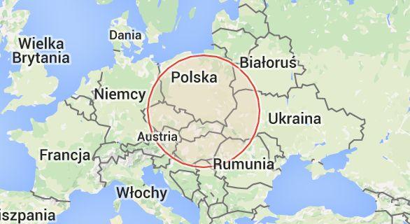 Mapa: Wyciaganie Wtryskiwaczy.Zapieczone wtryski, Urwane Świece Żarowe Kraków.