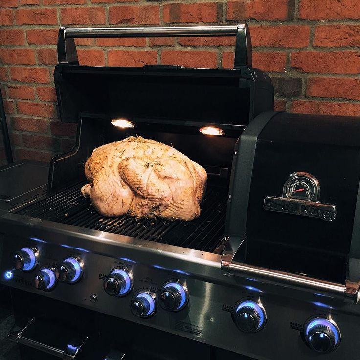 Indyk 14kg? Nie ma problemy #broilking #broilkingPL #broilkingPolska #grillujemy #grilluje #grill #grillgazowy #vsco #vscocam #foodporn #turkey #14kg #Imperial #grillowanie #love #instamood #instafood